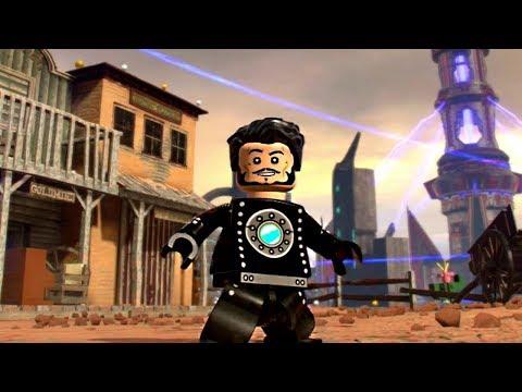 LEGO Marvel Super Heroes 2 - Iron Man (Old West Armor) Free Roam Gameplay
