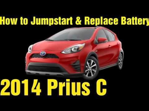 Prius C Jumpstart & Battery Replacement