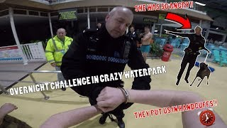 IT ALL WENT WRONG!! ANGRY POLICE TURNED UP WITH DOGS ON OVERNIGHT CHALLENGE