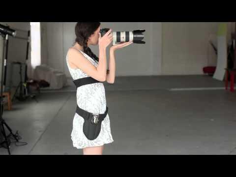 The Black Widow Camera Holster