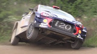 WRC Neste Rally Finland 2017 (Action & Crash)
