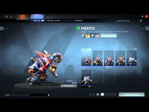 Dota 2 Reborn Beta Armory Preview
