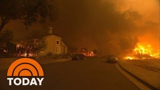 Massive Wildfires Ravage Northern California, Killing At Least 11 | TODAY