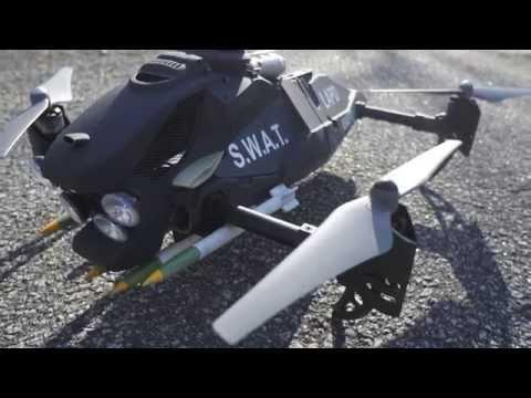 LAPD SWAT Drone