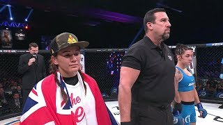 Bellator 186: What to Watch   Ilima-Lei MacFarlane vs. Emily Ducote