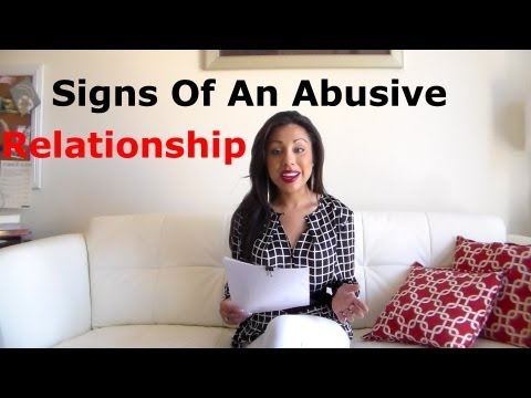 Signs Of An Abusive Relationship - Alexandra Villarroel Abrego