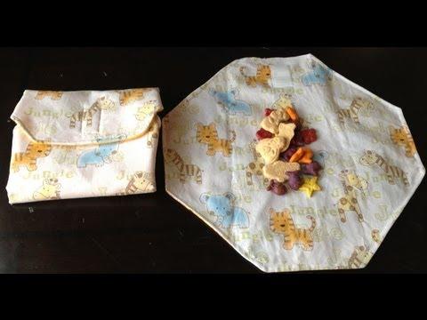 Tutorial : Sandwich wrap / Snack bag / Placemat
