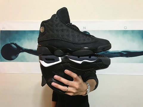 Jordan Retro 13 Black Cat unboxing and on feet review