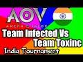 Aov India Tournament Team Infected Vs Team Toxinc Round 2 Day 2 Indian Server Tournament