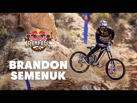 Brandon Semenuk's 3rd Place MTB Run - Red Bull Rampage 2014