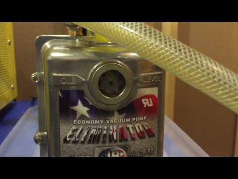 Freeze dryer vacuum pump - removing the hidden water!