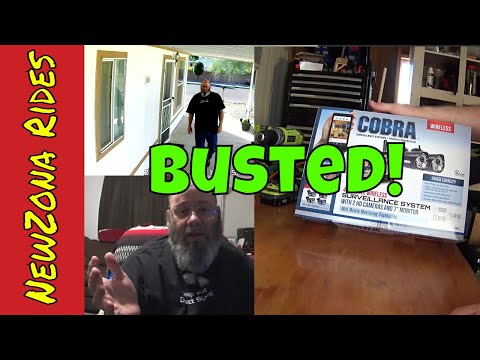 Honest Review: Harbor Freight Cobra Wireless Security Cameras/ Surveillance System/ 4 Channel/ HD