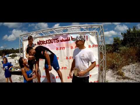 B fit Obstacle run 6 aug 2017 Official Aftermovie
