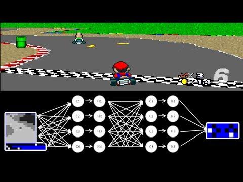 MariFlow - Self-Driving Mario Kart w/Recurrent Neural Network