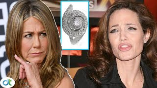 Angelina Jolie laughs at Jennifer Aniston when Brad Pitt reuse the $500k engagement ring to propose