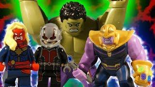 LEGO AVENGERS INFINITY WAR THE MOVIE - TRAILER 2 - MARVEL STOP MOTION