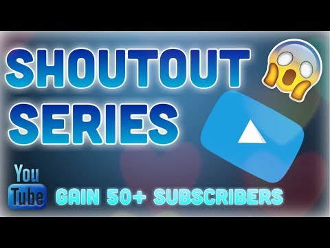 FREE SHOUT OUT ( 2K SUBSCRIBERS NEW SERIES )