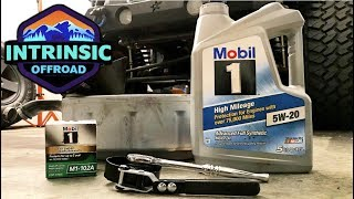 How To Change Oil On A Jeep Wrangler