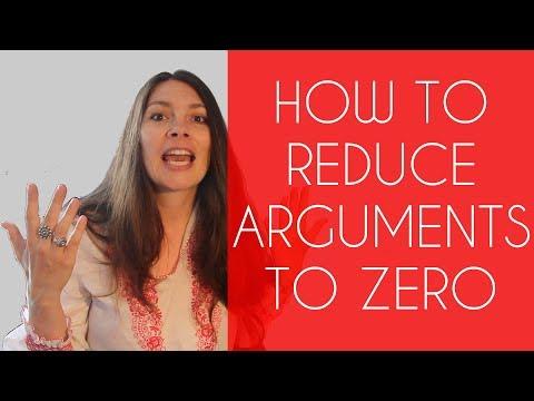 How to reduce arguments to zero