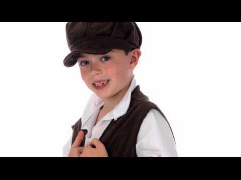 Ernest The Urchin Victorian Boys Costume