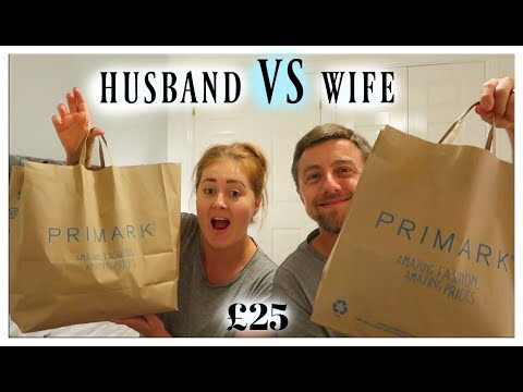 £25 PRIMARK OUTFIT CHALLENGE | HUSBAND VS WIFE
