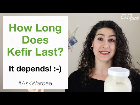 How Long Does Kefir Last? It depends... | #AskWardee 060