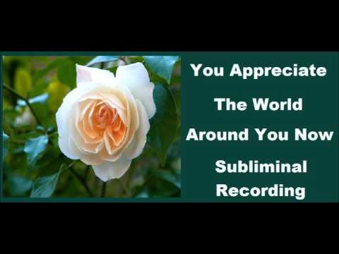 How To Appreciate Yourself & Life - Subliminal Inner Happiness Video
