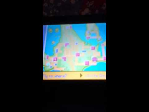 How To get Darkrai in Pokemon Platinum