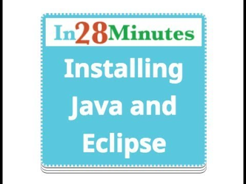 0 - Overview - Installation Java, Eclipse and Maven
