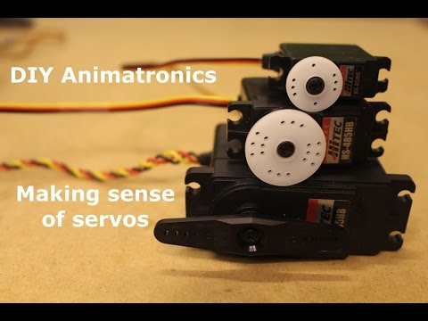 DIY Animatronics Episode 5: Making sense of servos