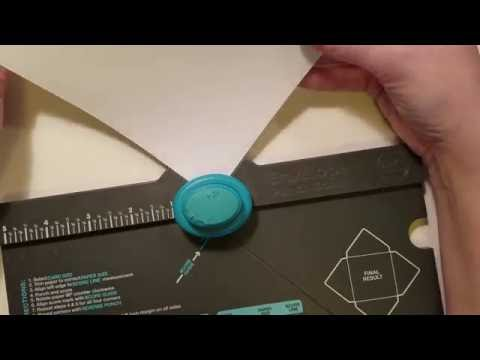 DIY Envelopes 2 Ways Using 12 x 12 Paper!