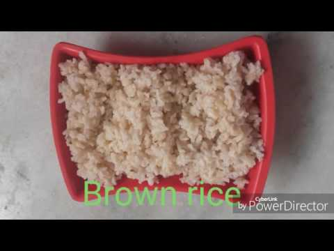 Brown rice || Diabetic recipes in Telugu
