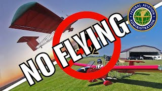 I got in trouble with the FAA!