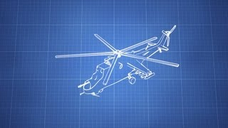 Blender - helicopter quick modeling and Freestyle-only render guidelines