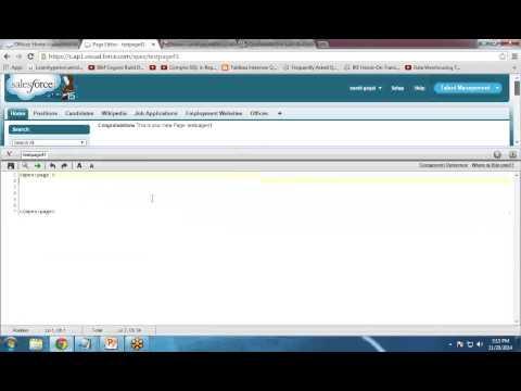 Implementing JavaScript in Visualforce Series 2