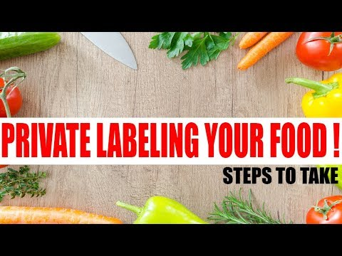 How to start a food business Series : Private Labeling Steps to Create YOUR food Product