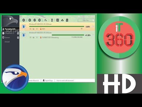 Free internet downloader for PC Eagleget Download Manager [Bangla]