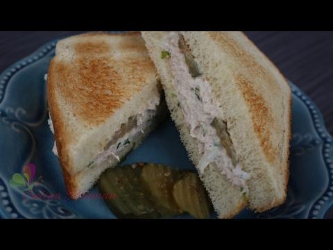 টুনা সান্ডউইচ || Tuna Sandwich || Easy Sandwich Recipe || Tasty Sandwich || R# 166