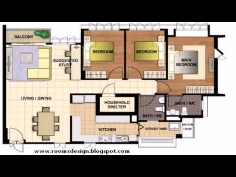 Hdb Floor Plan 5 Room