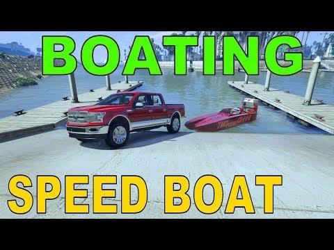 Boating | Speed Boat | 2018 F150 Lariat | GTA 5