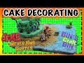 Jake and the Neverland Pirates Cake Decorating by Bins Crafty Bin