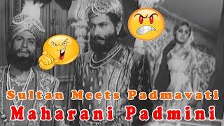 Sultan Meets Padmavati | Maharani Padmini | Bollywood Hindi Movie Scene