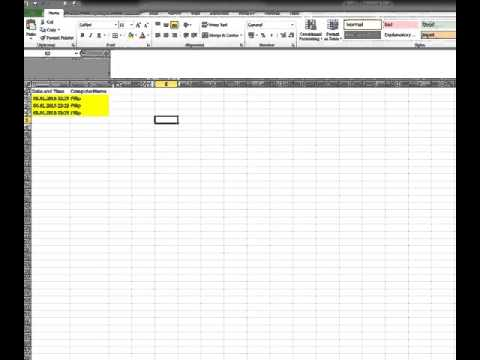 How to get DATE & TIME and COMPUTER NAME excel VBA