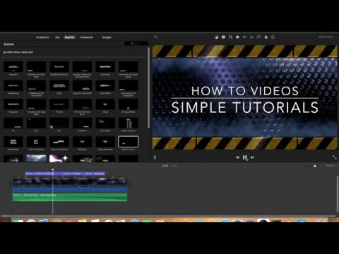 How To Make An Intro For Youtube Videos (iMovie)