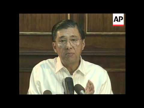 PHILIPPINES: ASEAN MINISTERS DISCUSS CAMBODIA'S JULY ELECTIONS