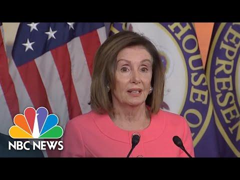 Nancy Pelosi Announces Impeachment Managers In Senate Trial | NBC News (Live Stream Recording)