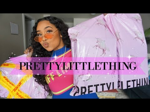 PRETTYLITTLETHING♡ UNBOXING / TRY ON HAUL (SPRING READY) | TheAnayal8ter