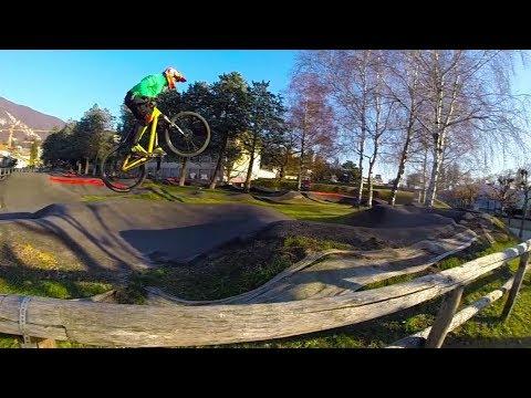 Mendrisio Pump Track Bike Park Commencal Absolut Dirt Go Pro Slow motion