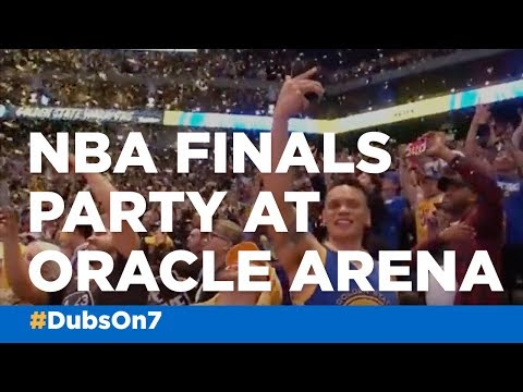 Oracle Arena was epicenter of excitement as Warriors won NBA Finals