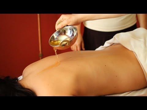 How to Use Massage Oil | Ayurvedic Massage